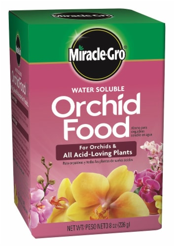 Miracle-Gro Orchid Food Perspective: front