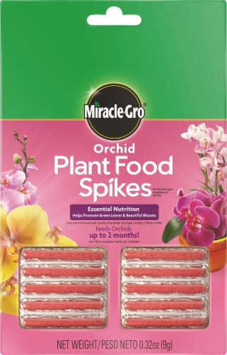 Miracle-Gro Orchid Plant Food Spikes Perspective: front