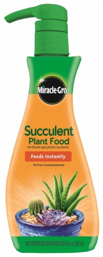 Miracle-Gro Succulent Plant Food Perspective: front