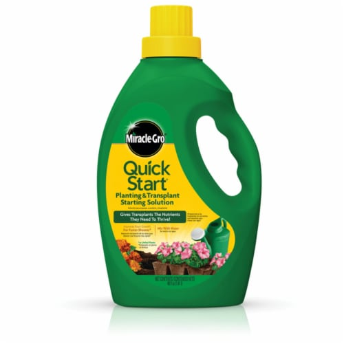Miracle-Gro Quick Start Planting & Transplant Starting Solution Perspective: front