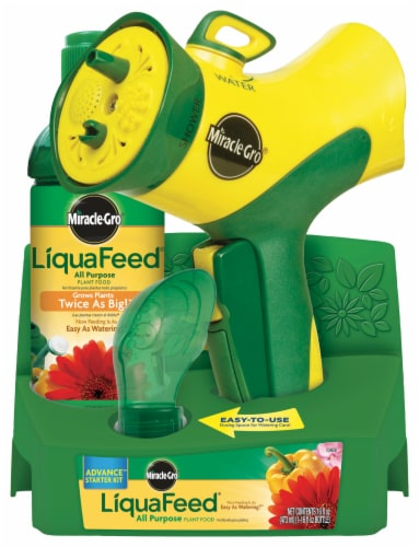 Miracle-Gro LiquaFeed All Purpose Plant Food Advance Starter Kit Perspective: front
