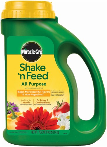 Miracle-Gro® Shake 'n Feed® All Purpose Continuous Release Plant Food Perspective: front
