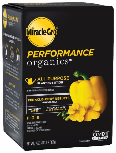 Miracle-Gro Performance Organics All Purpose Plant Nutrition Perspective: front