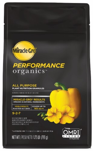 Miracle-Gro Performance Organics All Purpose Plant Nutrition Granules Perspective: front