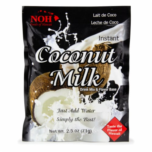 NOH Coconut Milk Drink and Flavor Base Mix Perspective: front