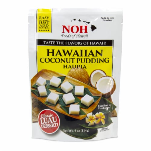 NOH of Hawaii Hawaiian Coconut Pudding Perspective: front