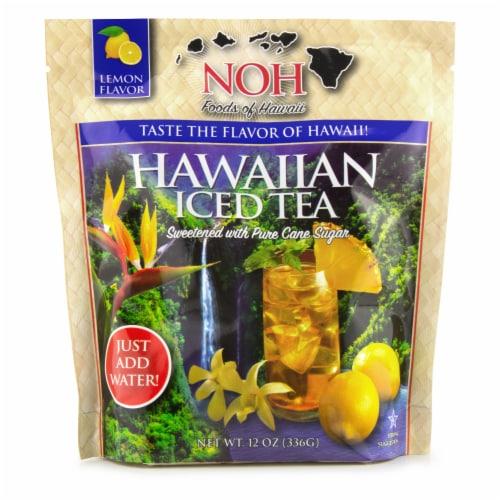NOH Lemon Flavor Hawaiian Iced Tea Perspective: front