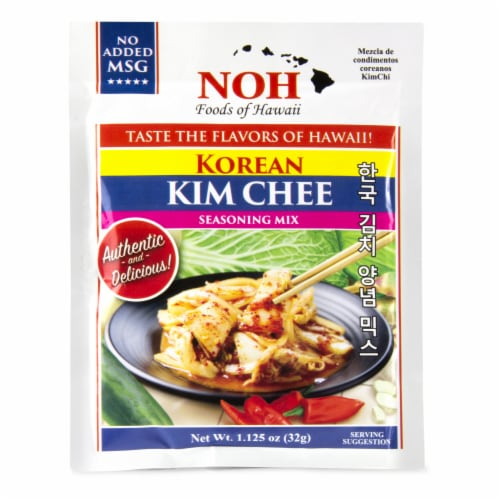 NOH of Hawaii Korean Kim Chee Seasoning Mix Perspective: front