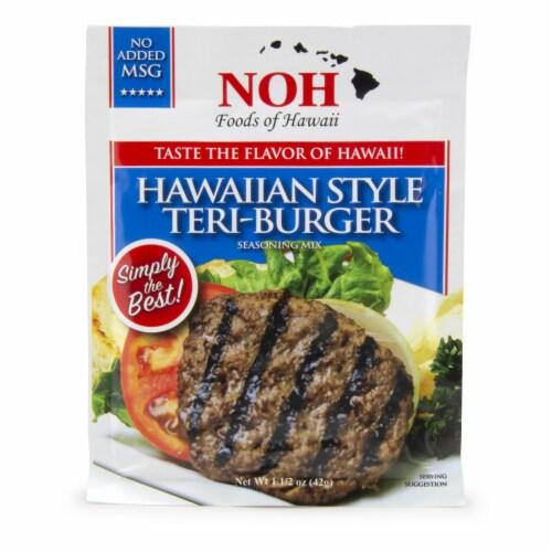 NOH of Hawaii Hawaiian Teri-Burger Seasoning Mix Perspective: front