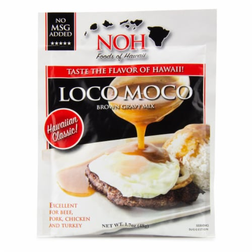 NOH Loco Moco Brown Gravy Mix Perspective: front