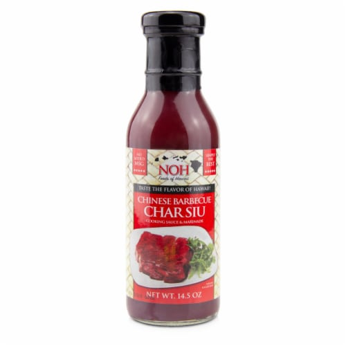 NOH Chinese Barbecue (Char Siu) Cooking Sauce & Marinade Perspective: front
