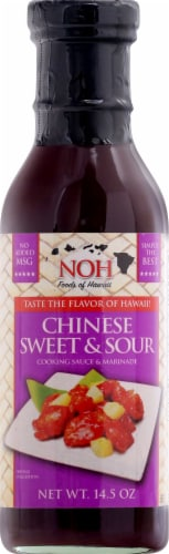 NOH Chinese Sweet & Sour Cooking Sauce & Marinade Perspective: front