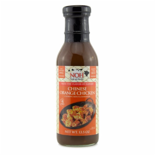 NOH Chinese Orange Chicken Cooking Sauce & Marinade Perspective: front