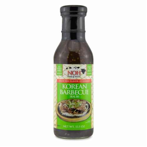 NOH Korean Barbecue (Kalbi) Cooking Sauce & Marinade Perspective: front