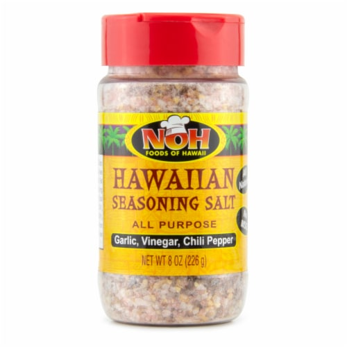 NOH All Purpose Hawaiian Seasoning Salt Perspective: front
