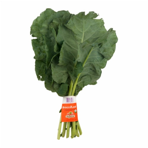 Foxy Organic BroccoLeaf Greens Perspective: front