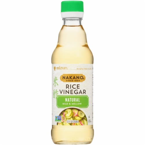 Mizkan Nakano All Natural Rice Vinegar Perspective: front