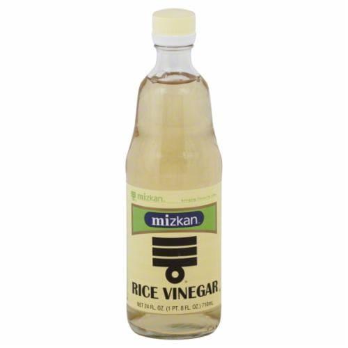 Mizkan Rice Vinegar Perspective: front