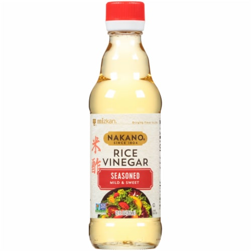 Mizkan Nakano Seasoned Mild & Sweet Rice Vinegar Perspective: front