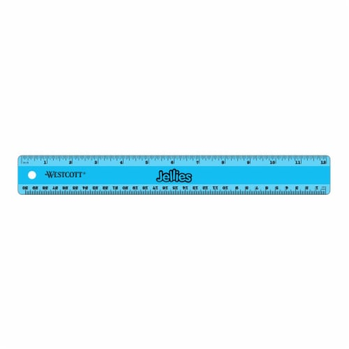 Westcott Jellies Twist-It Flexible Ruler - Assorted Perspective: front