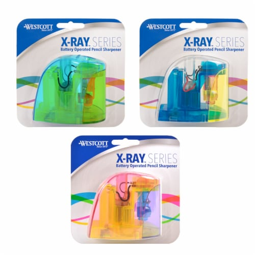 Westcott X-Ray Series Battery Operated Pencil Sharpener - Assorted Perspective: front