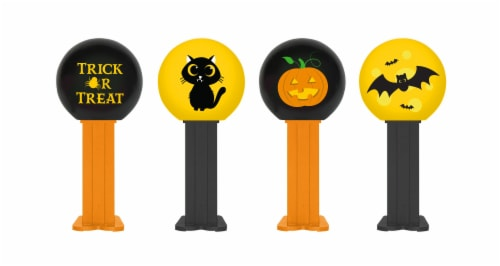 Pez Halloween Party Bag Perspective: front