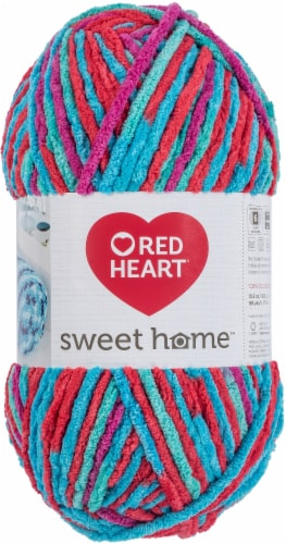 Red Heart Sweet Home Yarn-Calypso Perspective: front