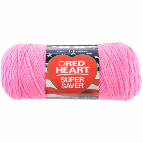Red Heart® Super Saver Yarn - Pink Perspective: front