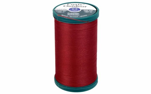 C&C Outdoor Living Thread 200yd Red Cherry Perspective: front