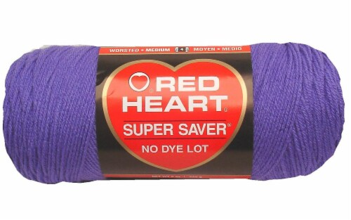 Red Heart Super Saver Yarn - Lavender Perspective: front