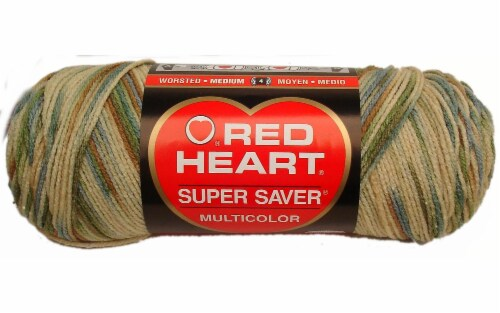 Red Heart Super Saver Yarn - Aspen Perspective: front