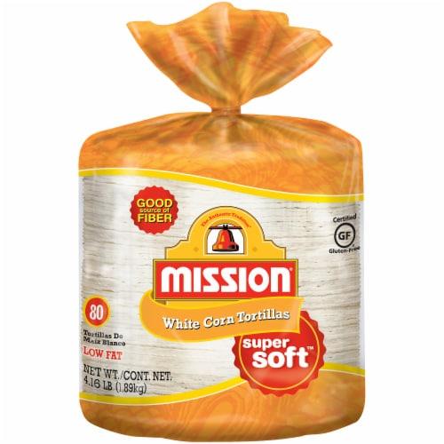 Mission Super Soft White Corn Tortillas Perspective: front
