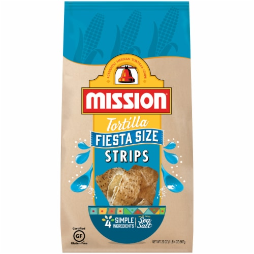 Mission Tortilla Strips Fiesta Size Perspective: front