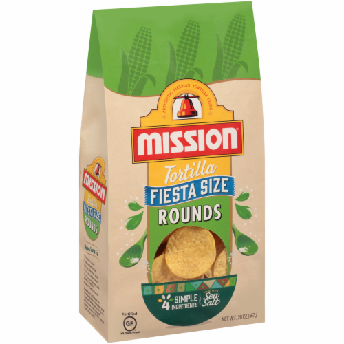 Mission Fiesta Size Tortilla Rounds Perspective: front