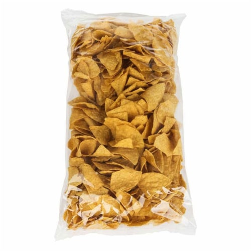 Mission Yellow Triangle Tortilla Chips - 2 lb. bag, 6 per case Perspective: front