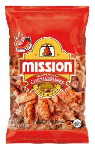 Mission Chicharrones Picante Pork Rinds Perspective: front