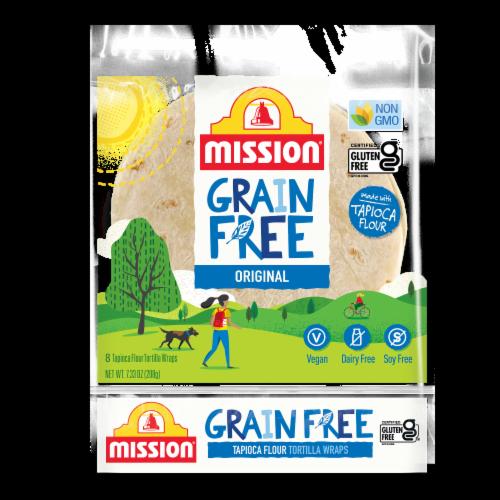 Mission Grain-Free Tapioca Flour Tortilla Wraps Perspective: front
