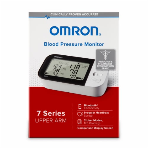 Omron 7 Series Upper Arm Blood Pressure Monitor Perspective: front