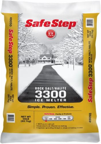 Safe Step® Rock Salt Bag Perspective: front