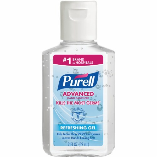 Purell® Advanced Refreshing Gel Hand Sanitizer Perspective: front