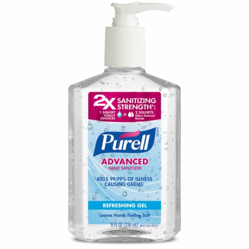 Purell Hand Sanitizer Perspective: front