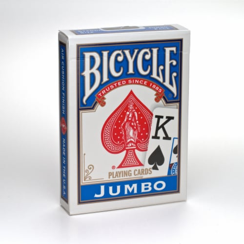 Bicycle® Jumbo Playing Cards Perspective: front