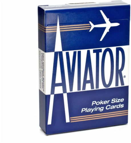 Bicycle® Aviator Poker Size Playing Cards - Assorted Perspective: front