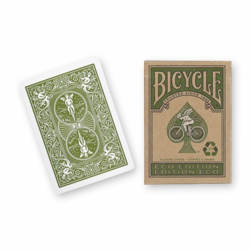 Bicycle® Eco Edition Playing Cards Perspective: front