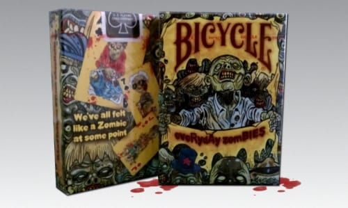 Bicycle® Everyday Zombie Playing Cards Perspective: front