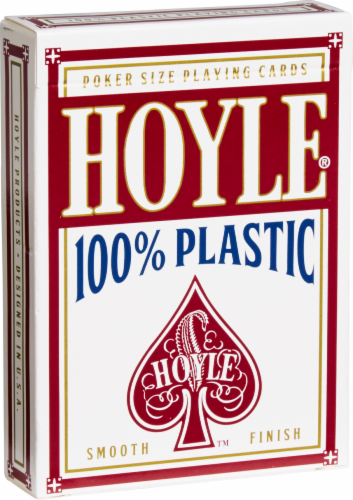 Hoyle® Poker Size Playing Cards Perspective: front
