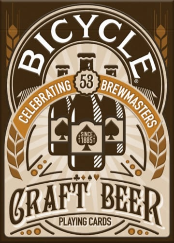 Bicycle® Craft Beer Celebration Playing Cards Perspective: front