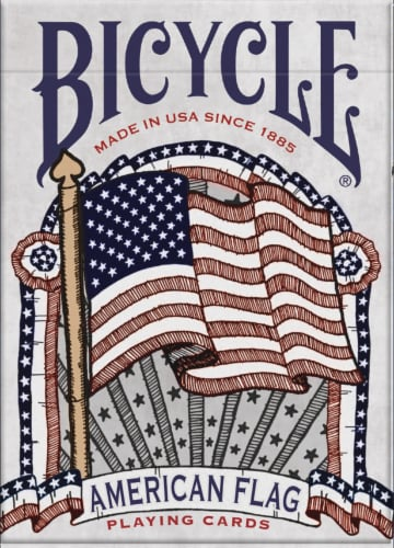 Bicycle® American Flag Playing Cards Perspective: front
