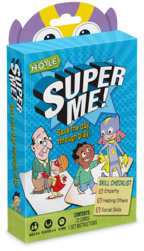 Hoyle® Super Me Card Game Perspective: front