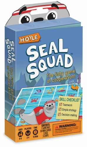 Hoyle® Seal Squad Card Game Perspective: front